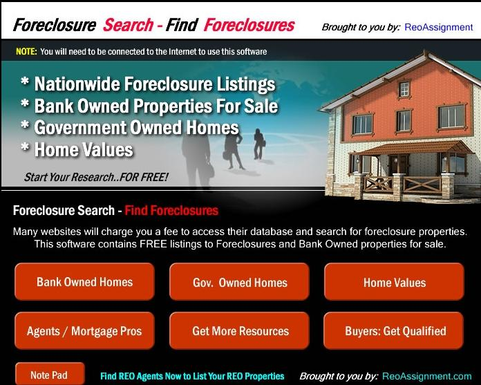 Find Foreclosures and Search for Foreclosures